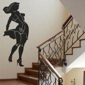 Adesivo Murale Pin up
