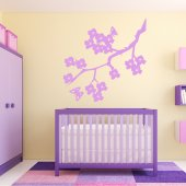 Adesivo Murale ramo fiori