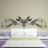 Adesivo Murale testata letto