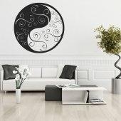 Adesivo Murale ying yang