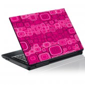 Adesivo per pc portatili grafico quadrato