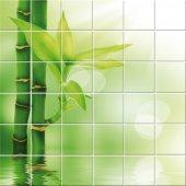 Adesivo per piastrelle bambù