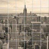 Adesivo per piastrelle new york
