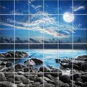 Adesivo per piastrelle paesaggio
