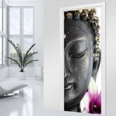 Adesivo per porte - Buddha