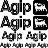 Agip Aufkleber-Set