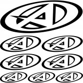 agvsport Decal Stickers kit