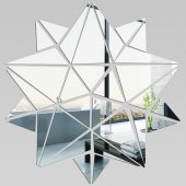Akrylowe Lustro Plexiglas - Gwiazda Mozaika