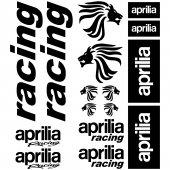 aprilia racing Decal Stickers kit