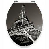 Aufkleber für Toilettendeckel Eiffelturm