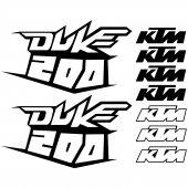 Autocolant KTM 200 DUKE