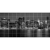 Autocolante Azulejo New York