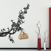 Autocolante Cabides de Parede árbol