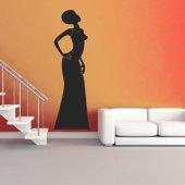 Autocolante decorativo Africana