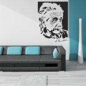 Autocolante decorativo Albert Einstein
