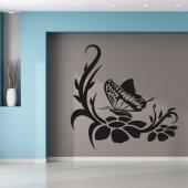 Autocolante decorativo borboleta