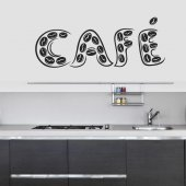 Autocolante decorativo cafe