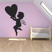 Autocolante decorativo coração