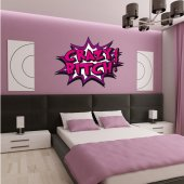 Autocolante decorativo crazy