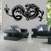 Autocolante decorativo dragón