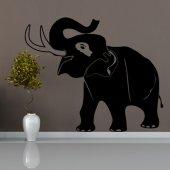Autocolante decorativo elefante