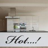 Autocolante decorativo HOT