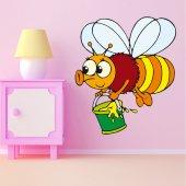 Autocolante decorativo infantil abeja