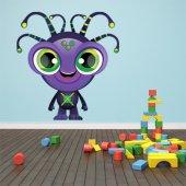 Autocolante decorativo infantil alienígena