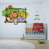 Autocolante decorativo infantil Animais