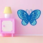 Autocolante decorativo infantil borboleta