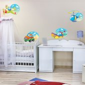 Autocolante decorativo infantil bumbo