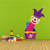Autocolante decorativo infantil Caixa de Pandora
