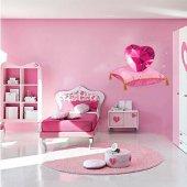 Autocolante decorativo infantil coração