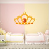 Autocolante decorativo infantil coroas
