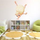 Autocolante decorativo infantil erizo