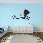 Autocolante decorativo infantil futebol