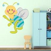 Autocolante decorativo infantil inseto