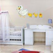 Autocolante decorativo infantil pato