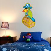 Autocolante decorativo infantil peito