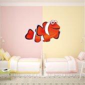 Autocolante decorativo infantil peixe