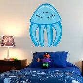 Autocolante decorativo infantil polvo