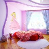 Autocolante decorativo infantil princesa