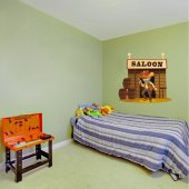 Autocolante decorativo infantil safári