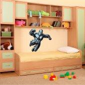 Autocolante decorativo infantil super-herói