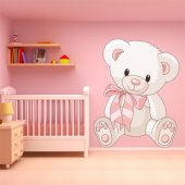 Autocolante decorativo infantil Ursinho