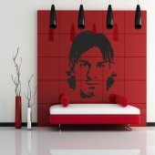 Autocolante decorativo lionel messi