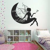 Autocolante decorativo lua Luz