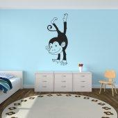 Autocolante decorativo macacos