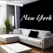 Autocolante decorativo New York