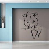 Autocolante decorativo puma